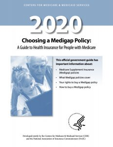 2020 medigap policy handbook